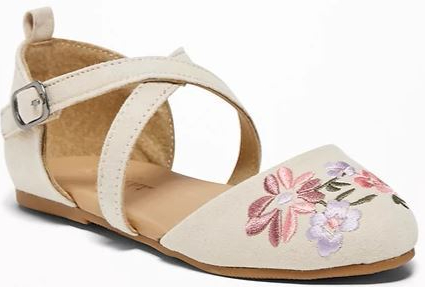 http://oldnavy.gap.com/browse/product.do?pid=202622002&vid=1&locale=en_US&kwid=1&sem=false&sdkw=floral-embroidered-cross-strap-flats-for-toddler-girls-P202622&sdReferer=https%3A%2F%2Fwww.google.com%2F